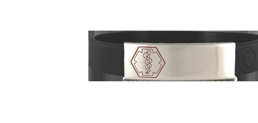 Sleek Medical ID Bracelets