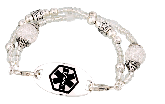 Bead Medical ID Bracelets