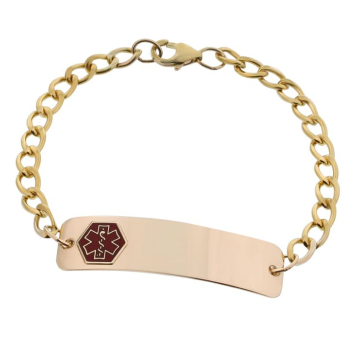 10ct Gold-Filled Classic Red Bracelet