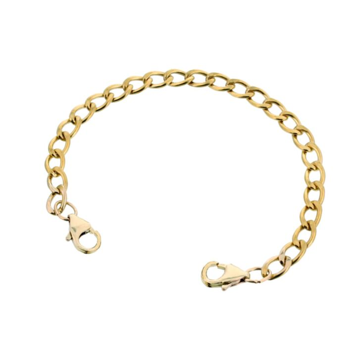 10ct Gold-Filled Mingle Curb Band
