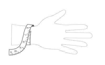 AUS Bracelet Sizing Guide